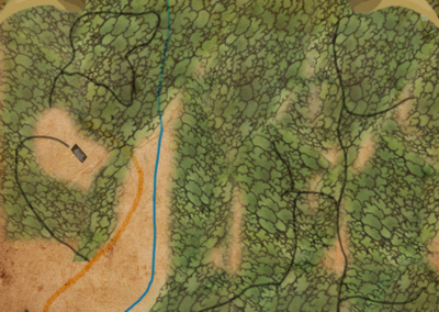 Middleground trail map